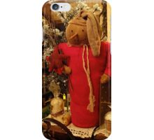 Country Christmas Crafts 8 iPhone Case/Skin