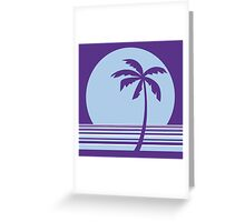 palm collection Greeting Card