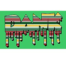 Dank - Rasta Drips Photographic Print