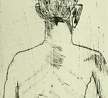 fara monprint - back view by donnamalone