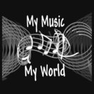 My Music, My World by Rhonda Walker
