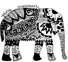 You're Irrelephant by alexavec