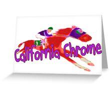 Fun California Chrome (Preakness) Greeting Card