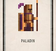 RPG Pixel - Paladin by Andrew Choo