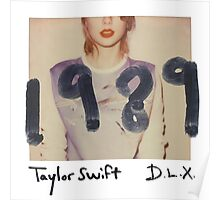 1989 deluxe album cover Poster