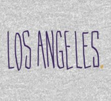 Los Angeles LAL - City Scroll by KirkParrish