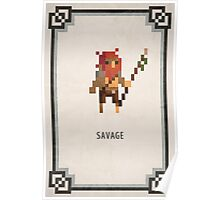 Pixel RPG - Savage Poster