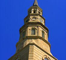 Church Steeple by Wendy Mogul