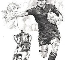 Richie McCaw - New Zealand All Blacks captain by Alleycatsgarden