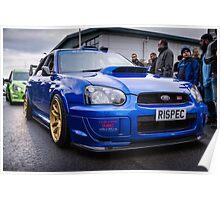 Subaru WRC Poster