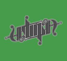 Utopia Ambigram Kids Clothes