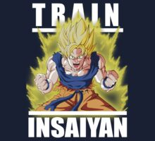 Train Insaiyan - Goku by ManiacalHyena18