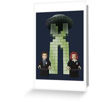 The BriX-Files Greeting Card