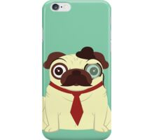 Pug in a Hat iPhone Case/Skin