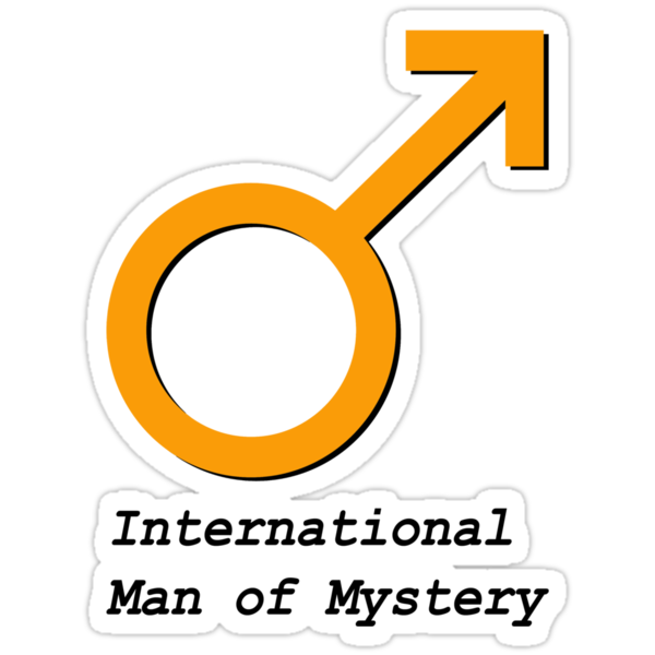 International Man of Mystery by benjy