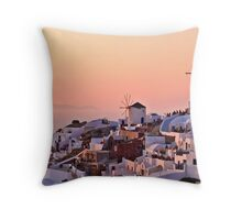 Two Windmills Throw Pillow