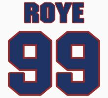 National football player Orpheus Roye jersey 99 by imsport