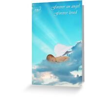 Forever an Angel Sympathy Card Greeting Card