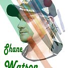 Shane Watson by Alex Gardiner