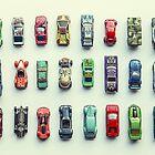 Toy Car Collection by Debbra Obertanec