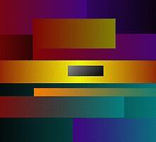 Horizontal Rectangular Blends by Deborah Dillehay