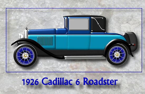 1926 Cadillac 6 Roadster by Dennis Melling