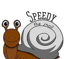 Speedy the Snail by Charles Oliver
