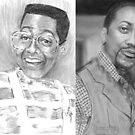 Jaleel White as Steven Q. Urkel And Jaleel After Urkel  by Carliss Mora