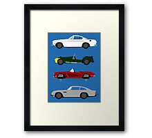 The Car's The Star: Spies Framed Print