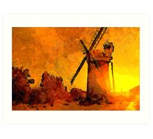 Horsey Windmill, Norfolk Broads - all products Art Print