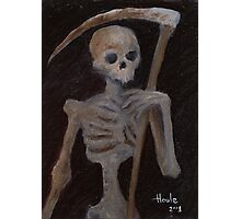 Death - The Grim Reaper Photographic Print