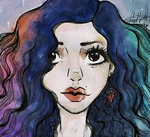 "Hev's Art ~ Marina and the Diamonds ""Froot""  by HeatherLG"