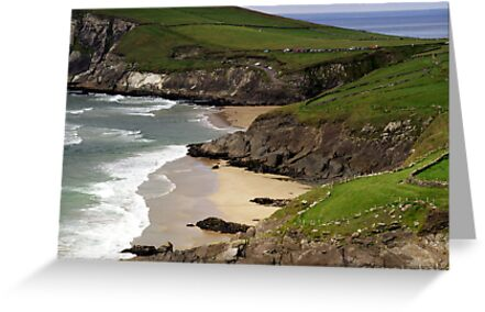 The sandy beach at Couminole by Donncha O Caoimh
