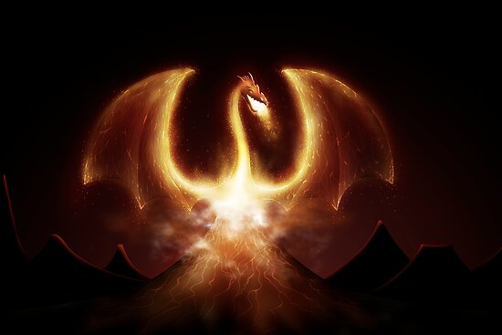 Fire Dragon by vladstudio