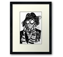 4th Doctor Framed Print