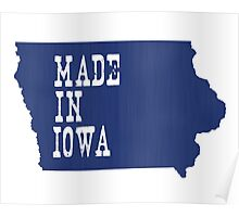 Made in Iowa Poster