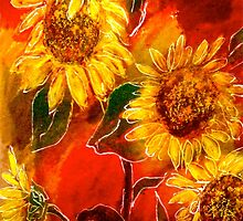 Design...Sunflowers by ©Janis Zroback