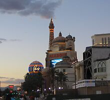Streetscape Las Vegas by Estelle O'Brien