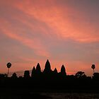 sunrise at angkor wat - cambodia by Courtney Goddard