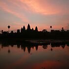 angkor wat at sunrise by Courtney Goddard