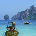 phi phi island - thailand by Courtney Goddard