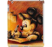 Mickey Mouse Drawing - Disney iPad Case/Skin