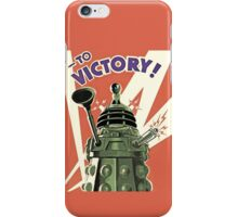 Daleks to the Victory - Doctor Who iPhone Case/Skin