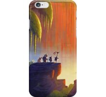 Up Disney - Panorama with All Characters iPhone Case/Skin