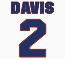 National baseball player Kiddo Davis jersey 2 by imsport