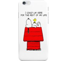 Snoopy and Woostock iPhone Case/Skin
