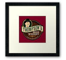 Thompson's Whiskey Framed Print