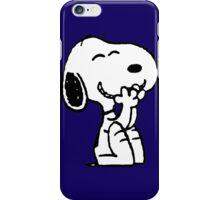 Smiling Snoopy  iPhone Case/Skin