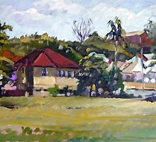 Windsor Backyard by Paul  Milburn