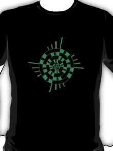Mandala 1 Green With Envy  T-Shirt